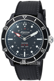 Alpina Horological Smartwatch Czarny/Guma Ø44 mm AL-282LBB4V6
