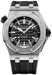 Audemars Piguet Royal Oak Offshore Czarny/Guma Ø42 mm 15710ST.OO.A002CA.01