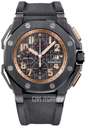 Audemars Piguet Royal Oak Offshore Czarny/Tkanina Ø48 mm 26378IO.OO.A001KE.01