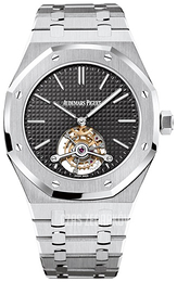 Audemars Piguet Royal Oak Czarny/Stal Ø41 mm 26512ST.OO.1220ST.01