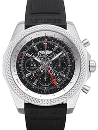 Breitling for Bentley B04 GMT Czarny/Guma Ø49 mm AB043112-BC69-220S-A20D.2