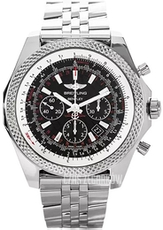 Breitling for Bentley B06 Czarny/Stal Ø49 mm AB061112-BD80-990A