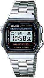 Casio Casio Collection Stal 38.6x36.3 mm A168WA-1YES