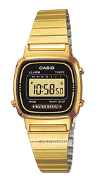 Casio Casio Collection Stal w odcieniu złota 30.3x24.6 mm LA670WEGA-1EF