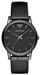 Emporio Armani Dress Czarny/Skóra Ø41 mm AR1732