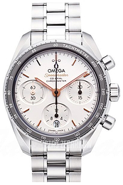 Omega Speedmaster Chronograph 38Mm Srebrny/Stal Ø38 mm 324.30.38.50.02.001