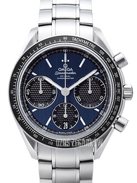 Omega Speedmaster Racing Co-Axial Chronograph 40mm Niebieski/Stal Ø40 mm 326.30.40.50.03.001