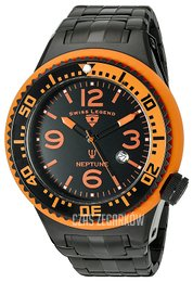 Swiss Legend Neptune Czarny/Stal Ø52 mm SL-21819P-BB-11-OBS