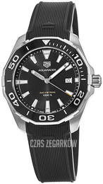 TAG Heuer Aquaracer Czarny/Guma Ø43 mm WAY101A.FT6141