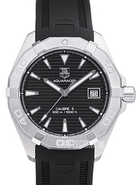 TAG Heuer TAG Heuer Aquaracer Srebrny/Guma Ø40.5 mm WAY2110.FT8021