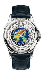 Patek Philippe Grand Complications Europe-Asia World Time Wielokolorowy/Skóra Ø39.5 mm 5131G/001
