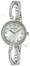 Bulova Dress Biały/Stal Ø26 mm