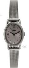 Timex Classic Elevated Srebrny/Stal Ø18 mm