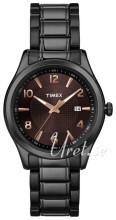 Timex Classic Elevated Brązowy/Stal Ø40 mm