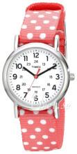 Timex Weekender Biały/Tkanina Ø31 mm